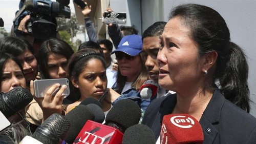 Peru arrests opposition leader Keiko Fujimori over corruption