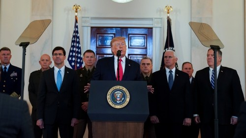 Timeline of Trump's shifting justifications for Soleimani killing