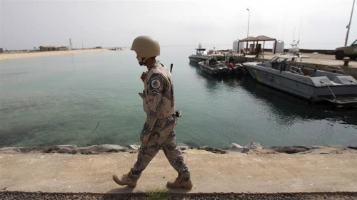 Saudi-led coalition intercepts explosive-filled boat 'by Houthis'