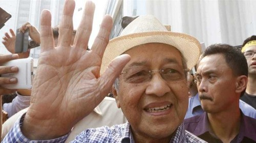 Malaysia police to question Mahathir over rally remarks