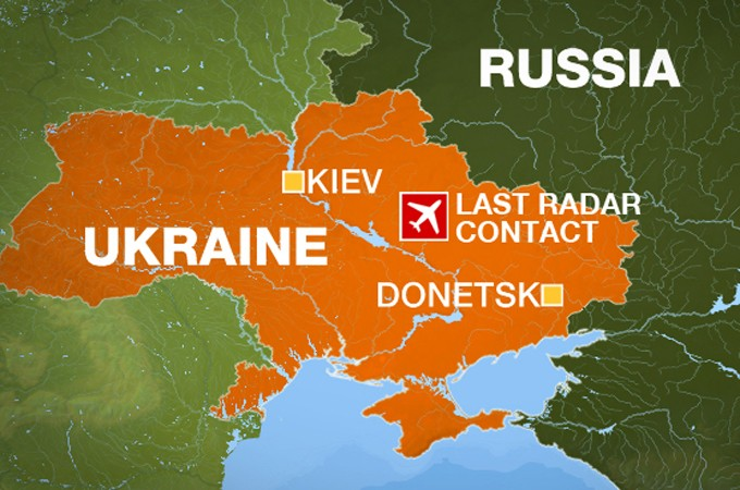 Malaysia airliner 'shot down' over Ukraine