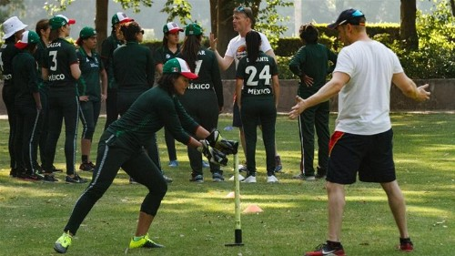 Mexican women cricketers pushing boundaries... and scoring them