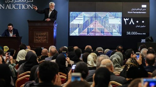Iran art auction rakes in millions amid pressure over sanctions