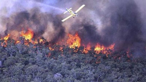 Australian wildfires rage out of control