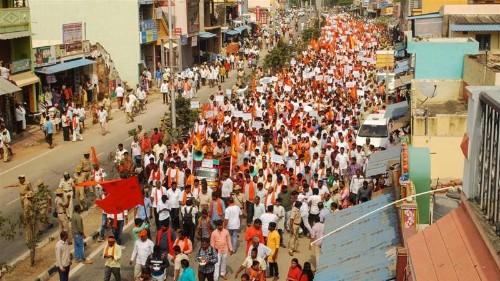 Hardline Hindus protest huge Jesus statue in India's Karnataka