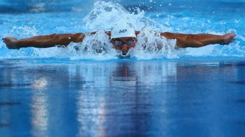 Phelps adds third fastest time of 2015 on comeback