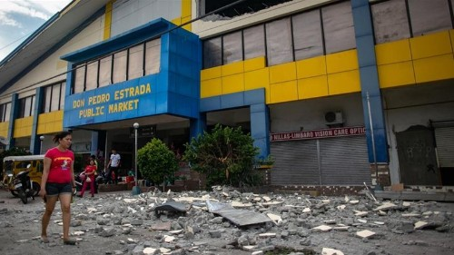 Deaths reported as 6.3 magnitude quake hits southern Philippines