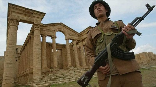 ISIL fighters destroy another world heritage Iraqi site