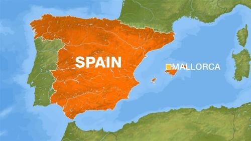 Seven killed in midair collision in Spain's Mallorca