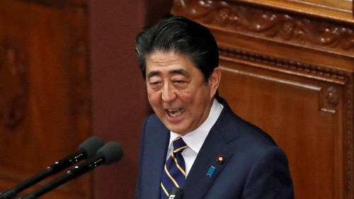 Abe's ruling bloc suffers rare losses in Japan's by-election