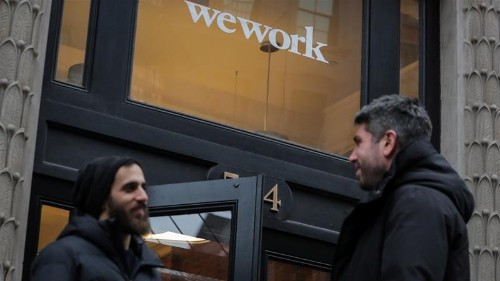 WeWork parent considers delaying stock market debut