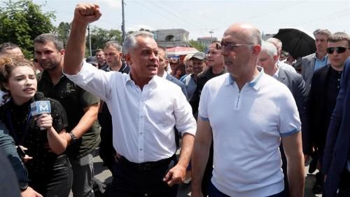 Moldova crisis deepens as new president calls snap election
