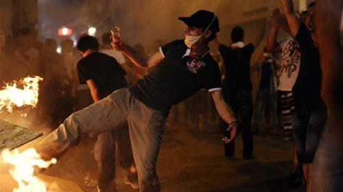 Turkish police fire tear gas on protesters