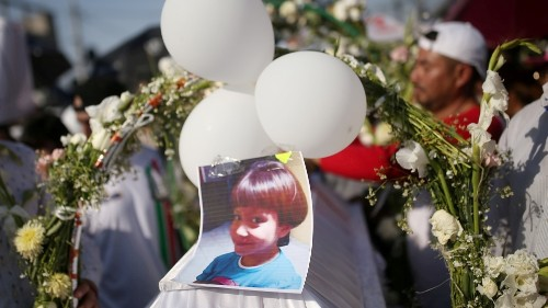 Mexico arrests suspects in the killing of seven-year-old girl