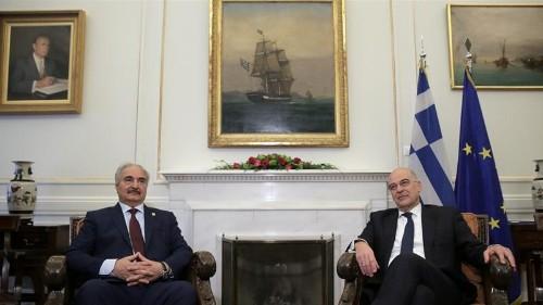Haftar holds meetings in Greece ahead of Libya peace summit