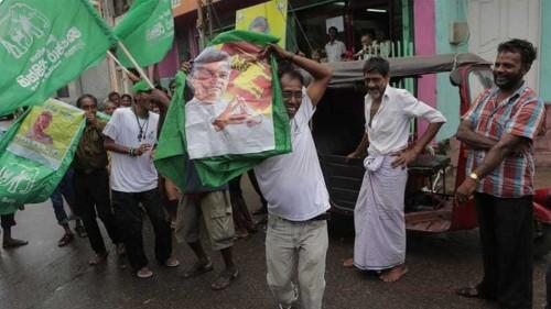 Sri Lanka's PM defeats ex-president in elections
