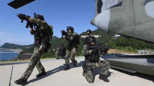 Japan protests S Korean military drills around disputed islands