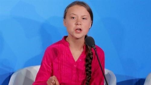 Trump slammed over comment on fervent Greta Thunberg speech