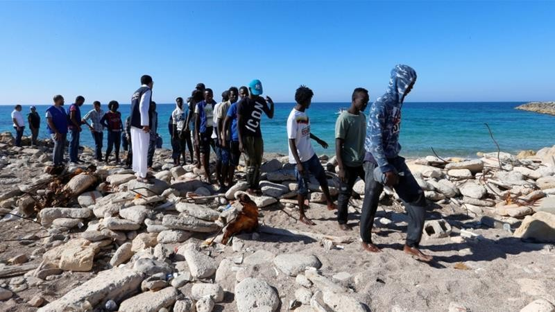 UN: Libyan coastguard detains hundreds of migrants
