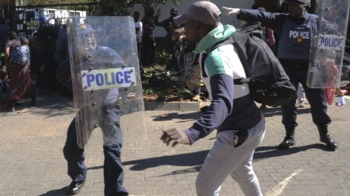 South Africa: Month-long UNHCR sit-in ends in violent eviction