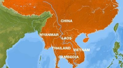 Cambodia's lifeline threatened as Mekong recedes to historic low