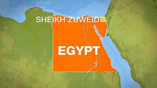 Egypt says fighters killed in Sinai clashes