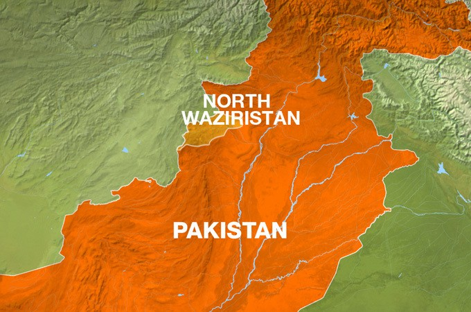 Pakistan military targets fighters in northwest