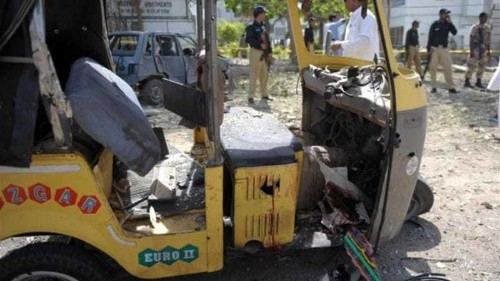 Deadly mosque bombing in Pakistan city
