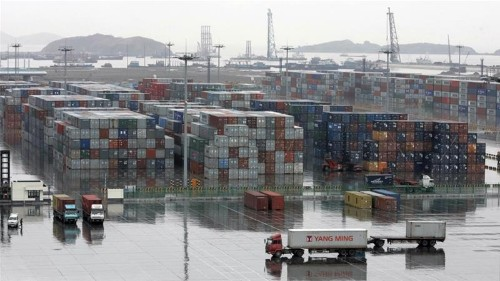 China's trade surplus with US widens to record $34.1bn