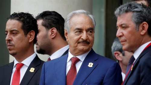 Libya's Haftar vows to fight until Tripoli 'militias' defeated