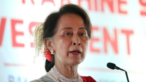 Suu Kyi to investors: Pour money into crisis-hit Rakhine state