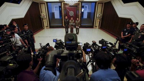 Thailand to 'teach journalists how to ask questions'