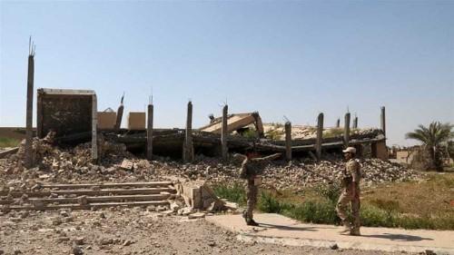 Saddam's tomb heavily damaged in Iraq fighting