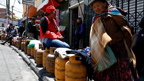 Bolivia interim gov't proposes election bill as death toll mounts