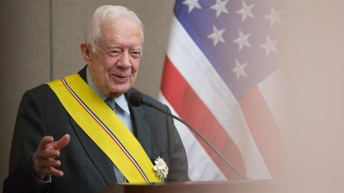 Former US President Jimmy Carter hospitalised after another fall