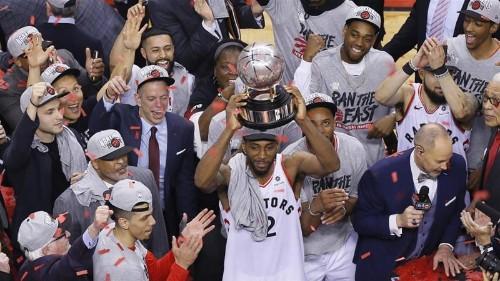 Toronto Raptors make history with first NBA final