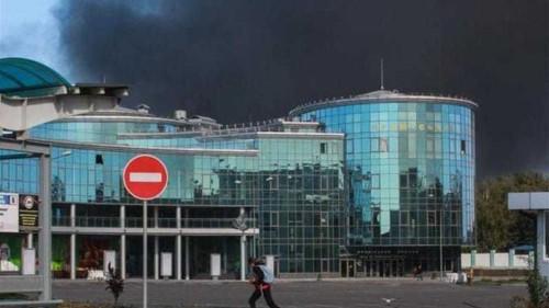 Fighting over Donetsk airport intensifies