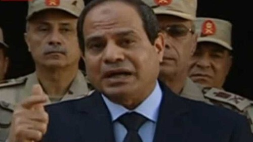 Sisi vows to defend Egypt's Sinai in 'face of terror'