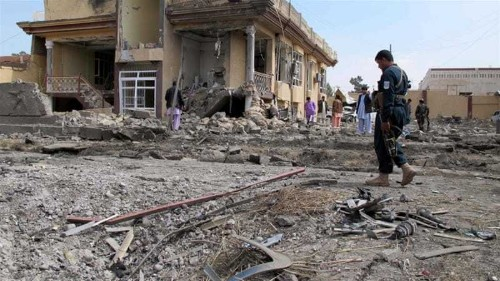 Civilians killed in suicide attack in Afghanistan