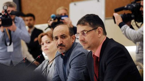 Syria opposition sets preconditions for talks