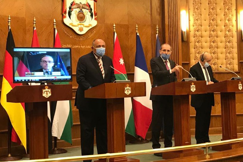 Arab, European states call Israel and Palestine to restart talks