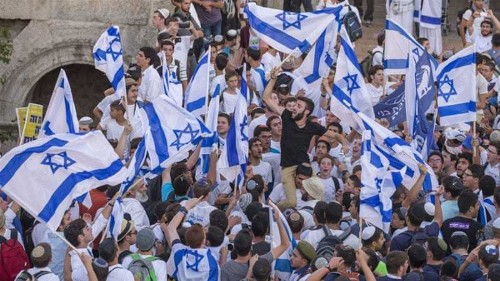 Clashes as Israelis mark East Jerusalem occupation day