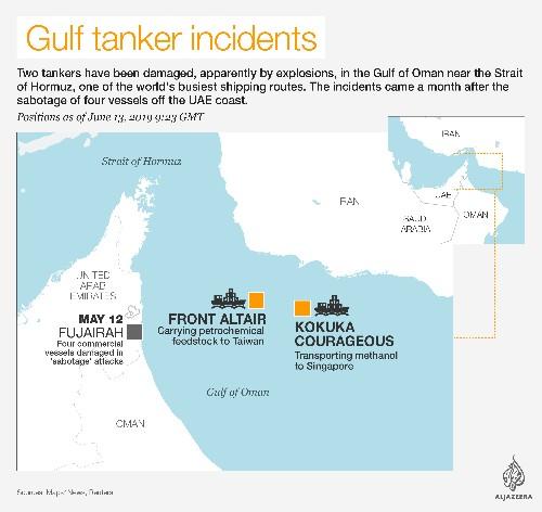 Saudi Arabia calls for 'decisive' action over tanker attacks