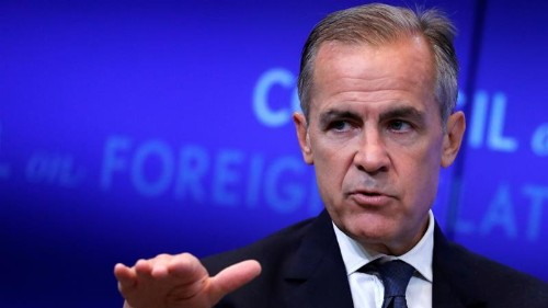 UK central bank can fight new slowdown, governor Carney says