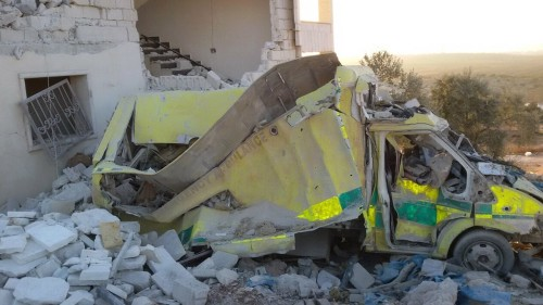Idlib hospital workers accuse Russia, Syria after air raids