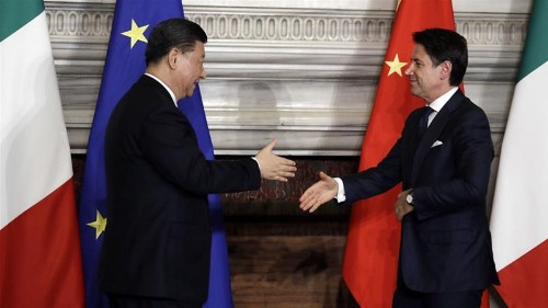 Italy joins China's Belt and Road Initiative