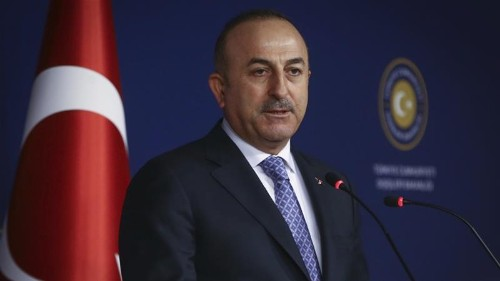 Turkey FM: Kurdish YPG in Afrin are a security threat