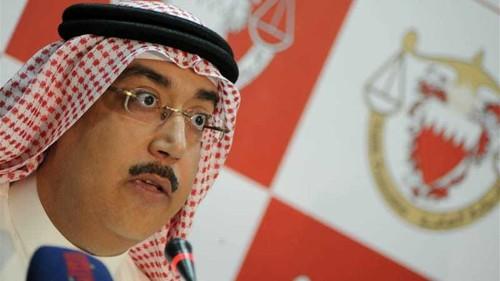 Bahrain accuses Iran of training rebels