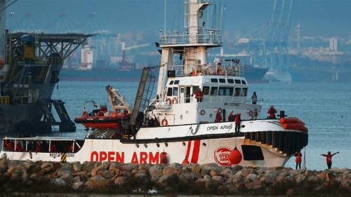 Hundreds stranded on Mediterranean rescue boats