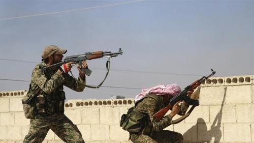 Dozens killed in heavy fighting in northwest Syria